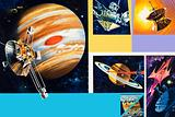 Early unmanned space missions to the outer planets