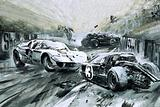 The Le Mans race in 1967