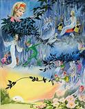 Scene with fairies