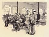 Bugatti's first workshop at Molsheim