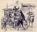 Scene from Pickwick Papers