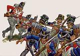 The Battle of Salamanca, Thomieres' men, caught by the British, broke under a bayonet charge