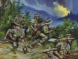 British soldiers in South East Asia, WW2