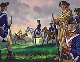 Surrender by General Cornwallis to the American commander at Yorktown, Virginia on 19 October 1781 (?)