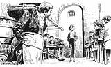Illustration for Oliver Twist by Charles Dickens