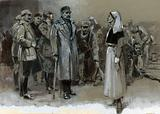Edith Cavell being arrested