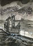 One stormy night a German submarine landed Casement on the Irish coast
