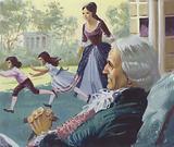 George Washington in old age