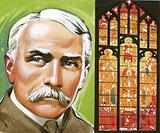 Edward Elgar, and the window in Worcester Cathedral based on his Dream of Gerontius