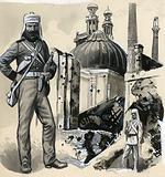 The Royal Marines who helped relieve the siege of Lucknow