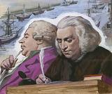 Dr Johnson and Boswell on their trip to the Western Isles