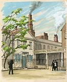 The Times was started in 1785 in Printing House Square
