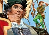 Cristopher Columbus seeing the New World