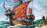 English sailing vessel of the 13th century