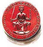 King John's seal, as affixed to the Great Charter