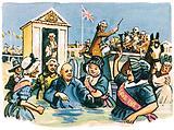 George III bathing at Weymouth