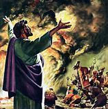 Elijah Calling Fire Down from Heaven