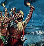 Gideon Defeats the Midianites