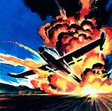 Flight through an Inferno