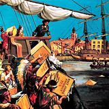 Boston Tea Party, Massachusetts, New England, 1773