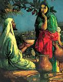 Jesus at Jacob's Well