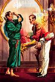 The Pickwick Papers. A case of mistaken identity: the innocent Mr. Winkle is challenged to a duel.