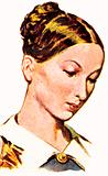 Florence Nightingale as a young woman