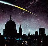 Meteorites in the night sky
