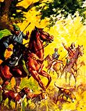 William Rufus, son of William the Conqueror, was killed in the New Forest in 1100