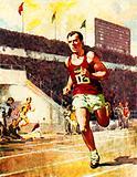 Running a marathon in the Olympics