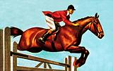 Foxhunter, the world's most famous show-jumper, which died in 1959