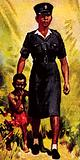 Policewoman in Ghana