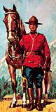 Member of the Royal Canadian Mounted Police, or Mountie