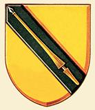 Arms of William Shakespeare, originally granted to his father