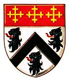 The arms of Sir Christopher Wren