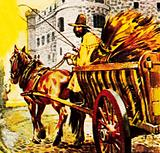 William Seymour, Earl of Hertford, escaping from the Tower of London, on a cart