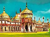 The Royal Pavillion at Brighton