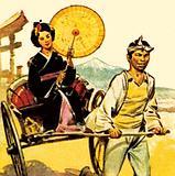 Rickshaw in Japan