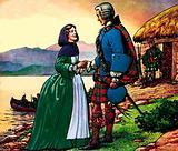 Bonnie Prince Charles and Flora Macdonald