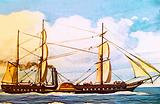 RMS Britannia, British ocean liner launched in 1840