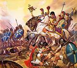 The Emperor Constantine in battle