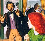 Dante Gabriel Rossetti and his perfect model, Elizabeth Siddal