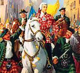 Bonnie Prince Charlie entering Edinburgh
