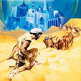 Rene Caille in search of Timbuktu