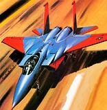 McDonnell Douglas F-15 Eagle jet fighter