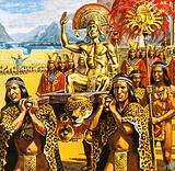 El Dorado, the Golden Man, South America