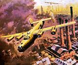 B-24 Liberator bombers doing service in World War II