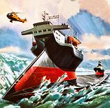 Ice-breaker of the future, conceived in 1976
