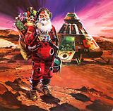 Santa Claus on Mars, as depicted in 1976