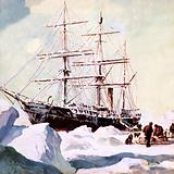 The Terra Nova in the Antarctic
